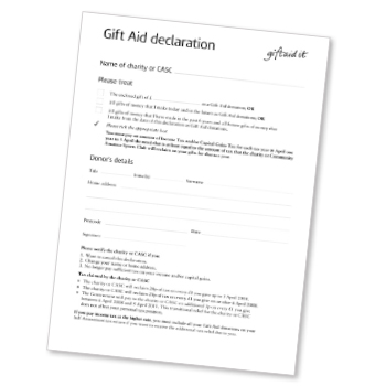 When and when not to sign a gift aid declaration in the first year of the gift aid scheme charities benefitted with 10 million of tax savings 25 years later in 201415 the savings were almost 12 negle Images