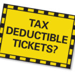 are parking tickets tax deductible