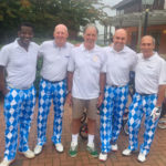 Mark Lawrenson Baby Beat Golf Day